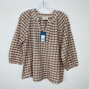 Universal Thread Womens Blouse Size Small 3/4